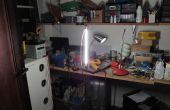 Pantalla / calentador de vieja impresora laser