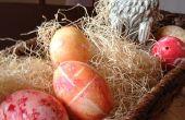 Teñir los huevos de Pascua