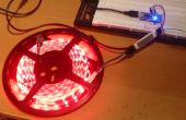 Controlador de tira de LED con LED Amp + Arduino