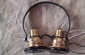 Auriculares vintage Steampunked