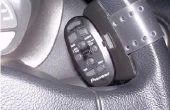 Cómo solucionar problemas con pionner volante remoto - señal IR aumentar y fijar la cerradura pequeña.