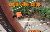 Casquillos de válvula del neumático de LEGO - REMIX
