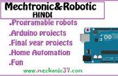 Robótica y Mecatrónica en hindi
