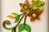 Hermosa 3D enclavijada flores y desde cero!
