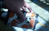 Cómo hacer triple conducto cinta cartera
