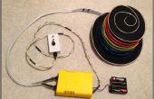 EL sombrero de alambre: Secuenciado y sonido activado con mando a distancia-con Arduino y Sparkfun