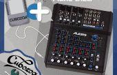 ALESIS MultiMix 8 USB FX - cómo llegar a la fuente de alimentación