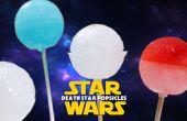 Paletas estrella de la muerte de Star Wars