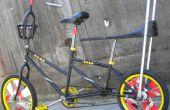 """""""Vaporizador"""" = bicicleta de desfile-estiramiento-carga"""