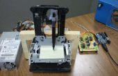 Barato Arduino controla trazador de pluma de 3 ejes
