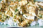 Delicias de queso de soja asiático
