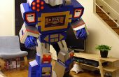 Transformers Soundwave traje