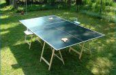 Cómo construir una mesa de Ping Pong