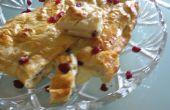 Fácil de queso Brie al horno con arándanos secos