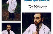 Célula sombreada Doctor Krieger el traje de arquero