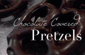 Pretzels cubiertos chocolate
