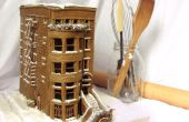 Construir un Brownstone Gingerbread