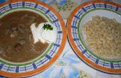 Sopa de hígado Húngaro (Majleves)