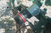 Fácil montar una linterna para manillar