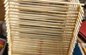 Caja hecha de palillos de bambú