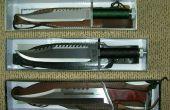Como hacer el cuchillo, cuchillo vainas, látigos, lanzas y mucho más