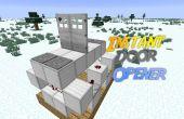 Minecraft: Abridor de puerta instantánea