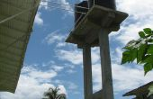 Torre de agua de concreto