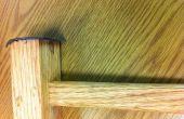 Mazo de madera hecho. Hice en TechShop