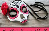 Máscara de calavera de azúcar