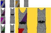 : Lápiz GEO arte POP suéter vestido... sin mangas :)