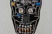 Joyería del cráneo Blinky colgante LED con energía solar