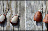 Joyas de madera y hueso fácil