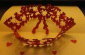 Tarjeta popup para San Valentín