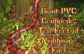 Pies gigantes de PVC ciempiés-10 de pesadilla combustible