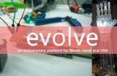 Evolucionar - una plataforma para manos Bionic y HMIs (Intel IoT)