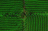 Textil tejida a mano que brilla intensamente modular
