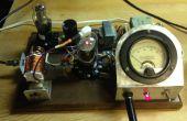 Transmisor QRP de 40M utilizando un tubo de 6CU6
