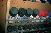 Estante del almacenaje de químicos