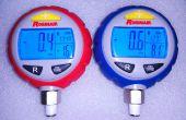 Hacer un asequible, set calibrador multíple refrigerante digital, universal!