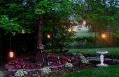 Linternas de jardín de la vela