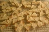 Chips de Tortilla de maíz casera