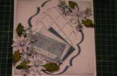 Cómo hacer una delicia de Daisy Floral enmarcado enrejado tarjeta