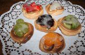 Tartaletas de fruta merengue