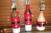 Santa botella trajes