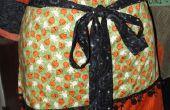 Gratis patrones de costura - cómo hacer un delantal de Halloween