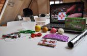 MaKey MaKey experimentando / Experimenteer met de MaKey MaKey