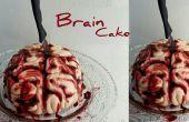 Cerebro sangriento torta