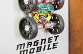 MagnetMobile: Hacer un Rover de rastreo de pared