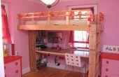Cómo construir la cama de un niño