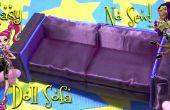 Hacer un sofá impresionante muñeca Chic y elegante (fácil-NO-coser)